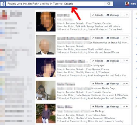 facebook graph search queries