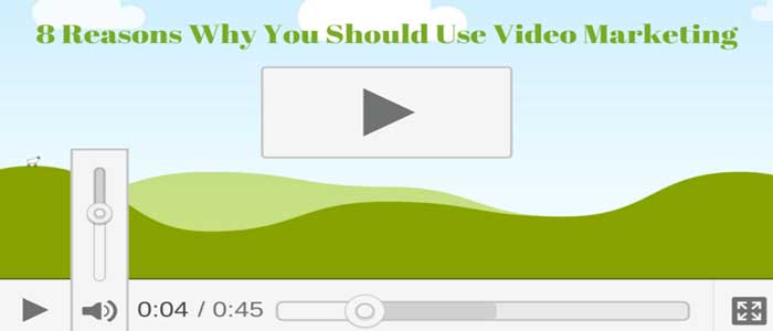 8 Reasons Why You Should Use Video Marketing [Infographic]