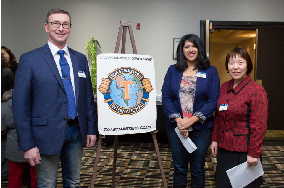 Confidently Speaking Toastmasters Club 2016 Open House